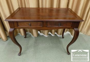 6320-713 - South Cone Mahogany Small Leathertop Desk