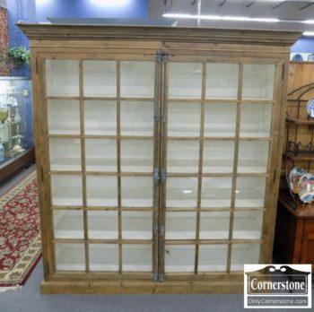 6320-833 - Arhaus Rustic Double Bookcase