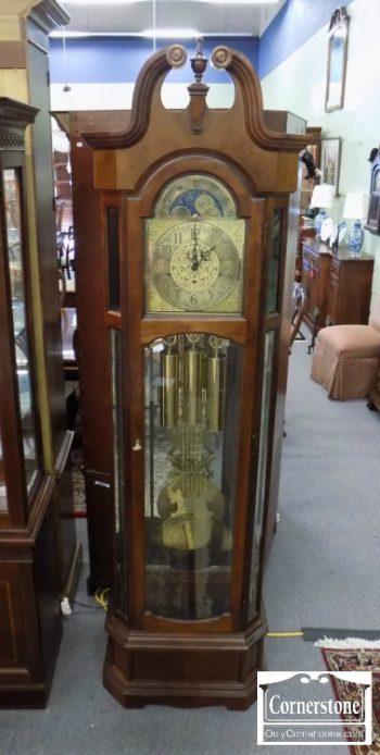 6320-835 - Ridgeway Cherry Grandfather Clock