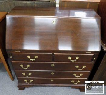 6320-917 - Stickley Mahogany Slant Front Desk