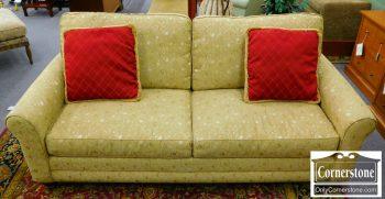 6352-5 Bassett Soft Gold Upholstered Sofa