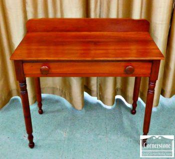 6357-5 - Solid Cherry Small Antique Vanity