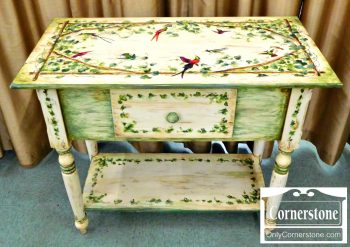 6362-3 Habersham Painted Console