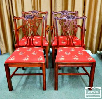 6381-2 - 4 Chippendale Chairs
