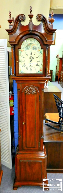 6383-1 - Sligh Tall Case Clock John Goddard Reproduction