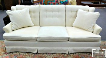 6402-2 - Off White Wing Back Sofa