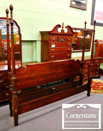 6410-6 - Statton Solid Cherry King Size Bed