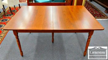 6414-1 - Solid Cherry Table with 5 Leaves