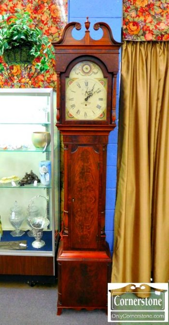 6425-22 - Mahogany Grandfather Clock 2
