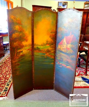 6425-27 - Painted 3-Part Screen
