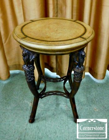 6446-3 - French Empire Round Occasional Table