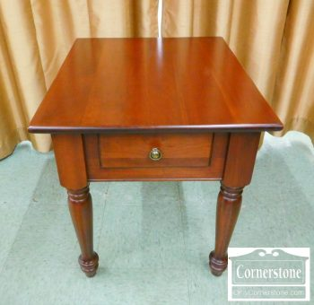 6451-10 - Cherry 1 Drawer End Table