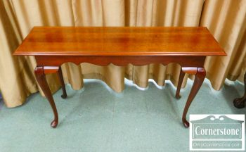 6454-2 - Solid Cherry Queen Anne Sofa Table