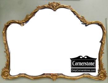 6505-1 Friedman Gilt Framed Mirror