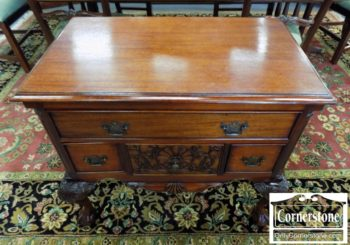6579-5 - Mahogany Chippendale Lowboy