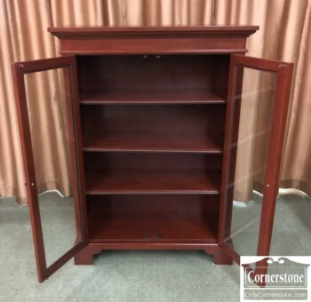 6583-10Z-Timeless Creations 2 Dr Bookcase
