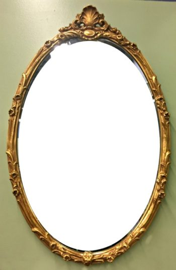 6587-1 (2) Friedman Brothers Gilded Mirror