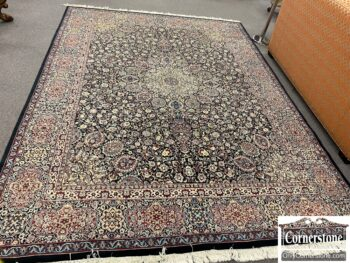 6627-72 - Hand Knotted Wool Rug