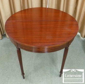 6635-1 - Inlaid Mahogany Game Table
