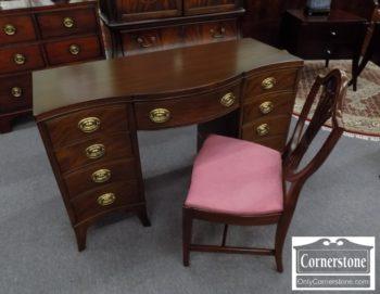 6670-1025 - Drexel Mahogany Vanity with Chair