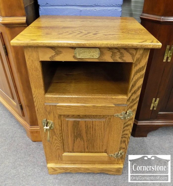 Awesome Oak Ice BoxChest