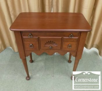 Leisters Cherry Queen Anne Lowboy