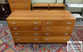 6670-409 - Stickley Solid Cherry Dresser
