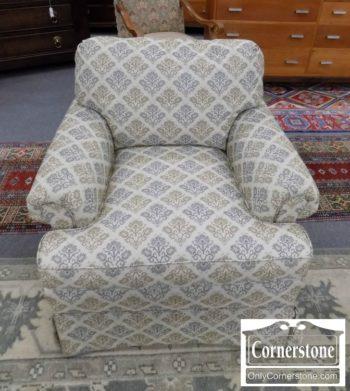 6670-424 - Beige Print Chair