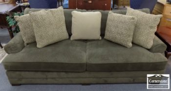 6670-606 - King Hickory Upholstered Sofa