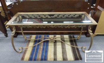 6670-742 - Glass Top Sofa Table