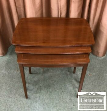 6670-789 - Kittinger Mahogany Nesting Tables