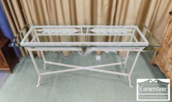 6670-906 - Glass Top Sofa Table