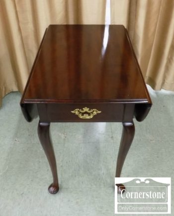 6758-11 - Statton Solid Cherry Drop Leaf End Table