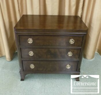 6832-7 - American Drew Cont 3 Drawer Bedside Chest