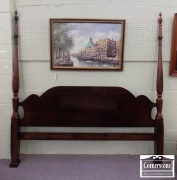 6862-1 - Cherry King Size Poster (Headboard Only)
