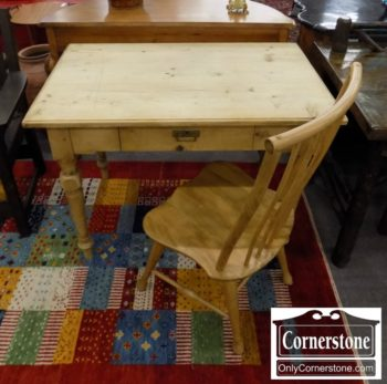 6863-18 - Pine Rustic Desk with Chair
