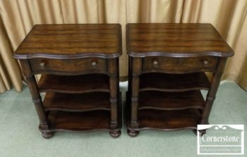 6863-4 - Pair of Stanley End Tables