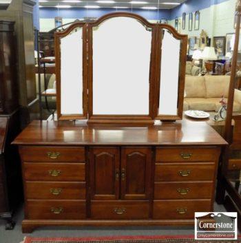 6863-8 - Cherry Dresser with Mirror