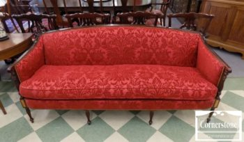 6953-1 - Hickory Chair Red Uph Sofa