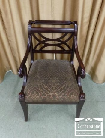 6971-1 - Bailey Street Trading Reg Style Arm Chair