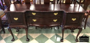 6976-1 Mahogany Chippendale Sideboard