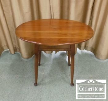 6985-1 - Stickley Solid Cherry 1 Drawer End Table
