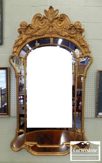 7000-100 - Large Gold Mirror Pic M
