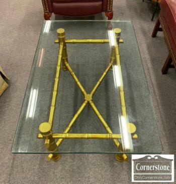7000-1062-Glass Top Coffee Table