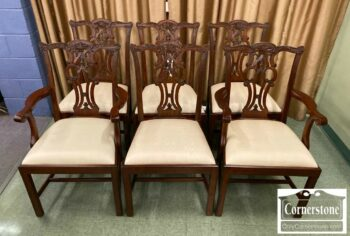 7000-1078-6 Maitland Smith Mah Chip Chairs
