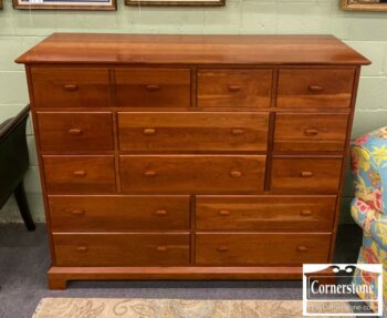 7000-1103-PA House Sol Cherry Tall Master Dresser