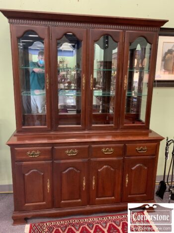 7000-1201 - Solid Cherry China Cabinet