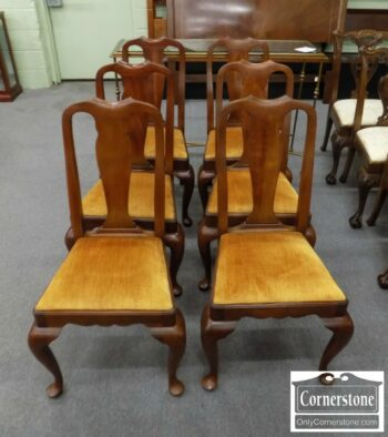 7000-243 - Set of 6 HH Sol Cher QA Dining Chairs