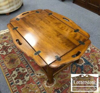 7000-277 - Ethan Allen Solid Maple Coffee Table