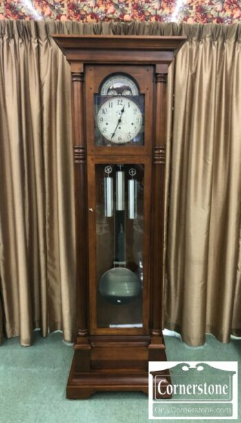 7000-329 - Howard Miller Cherry Grandfather Clock